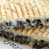 Grilled fontina breakfast sandwich from 'wichcraft