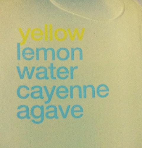 BluePrintCleanse's Spicy Lemonade